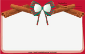 Holiday Bow Red