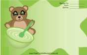 Teddy Bears Green