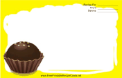 Yellow Chocolate Truffle