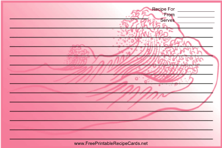 Pink Wave recipe cards